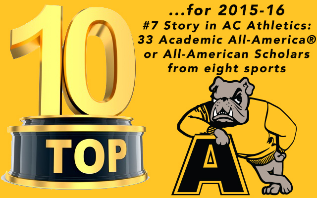 Top-10 of 2015-16: Thirty-Three All-America Scholars and Academic All-Americans Make No. 7 on the List