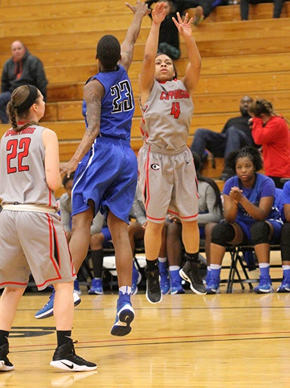 Lady Spartans Lose Road Game