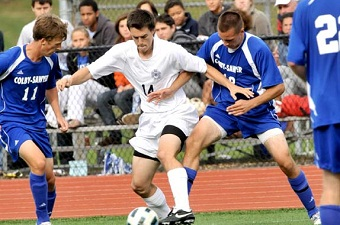 Babson downs men's soccer in second OT, 2-1