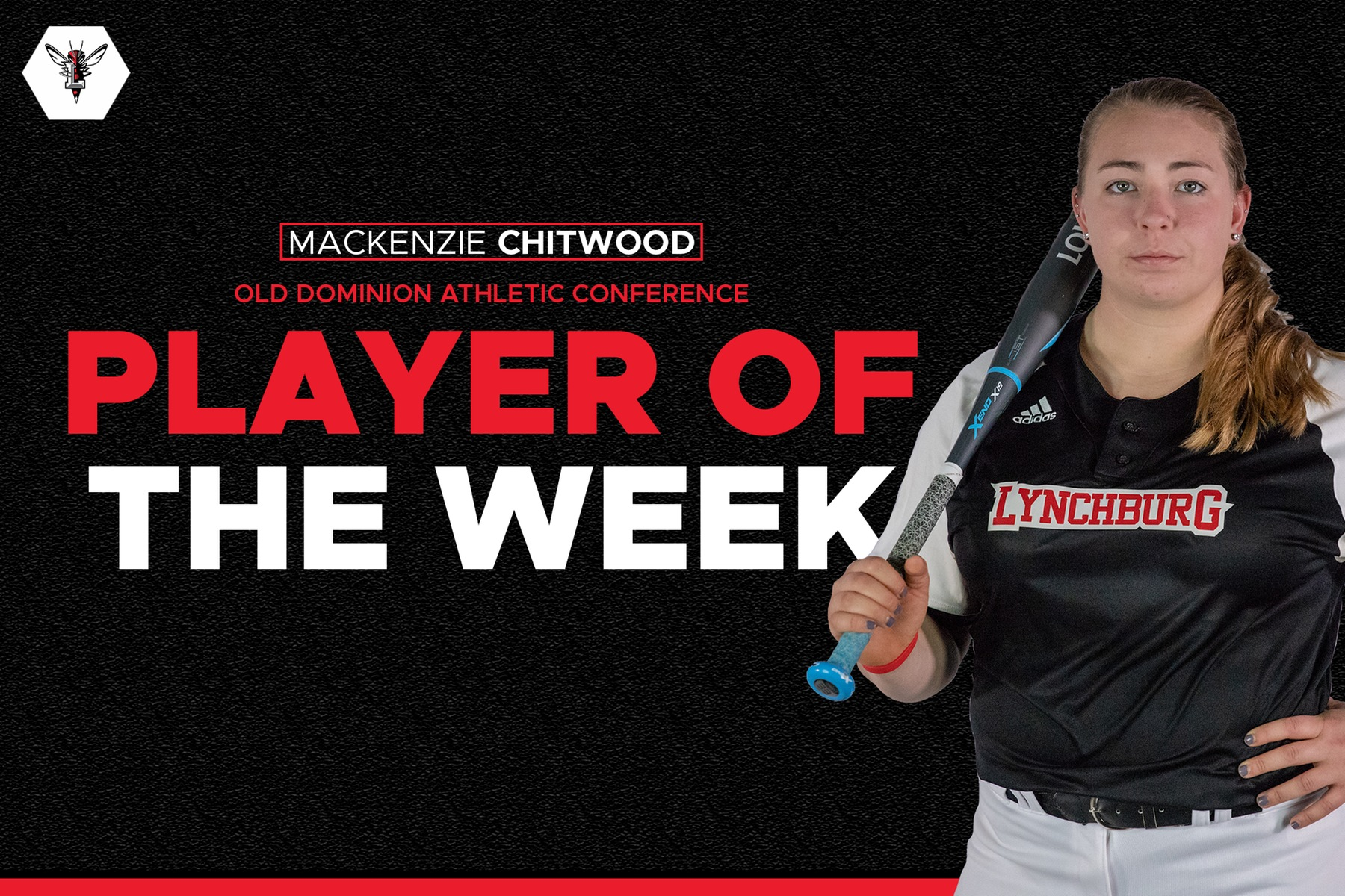 Mackenzie Chitwood ODAC player of the week graphic