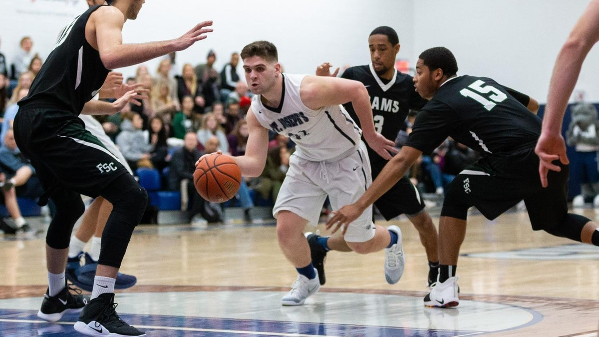 Men's Basketball Earns Second-Straight Win Topping Lehman