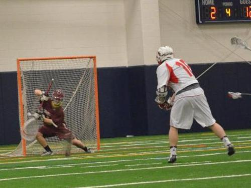 Men's lacrosse team loses to Oberlin, 12-4, in season-opener