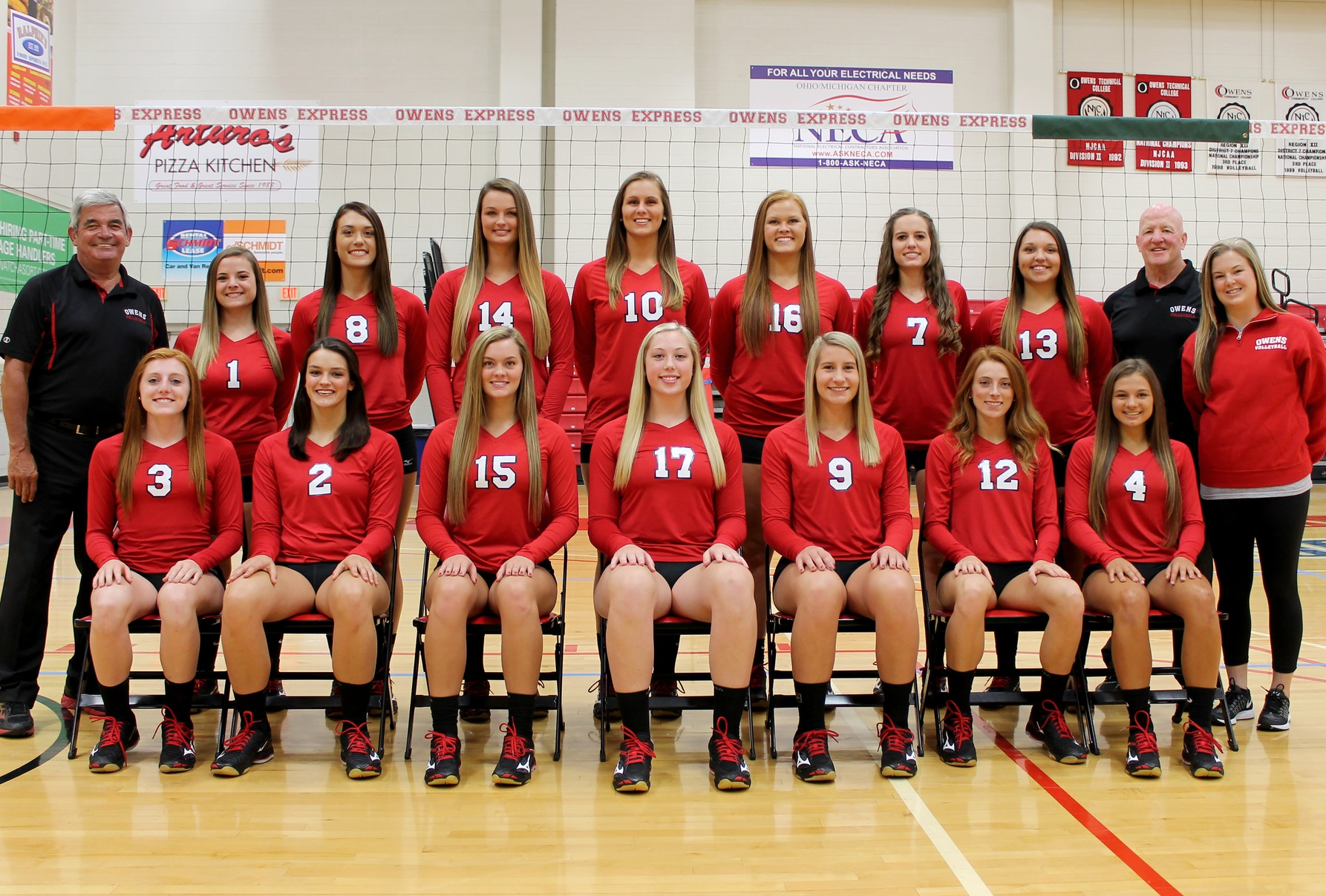 Owens Women's Volleyball Team Heads for National Tournament