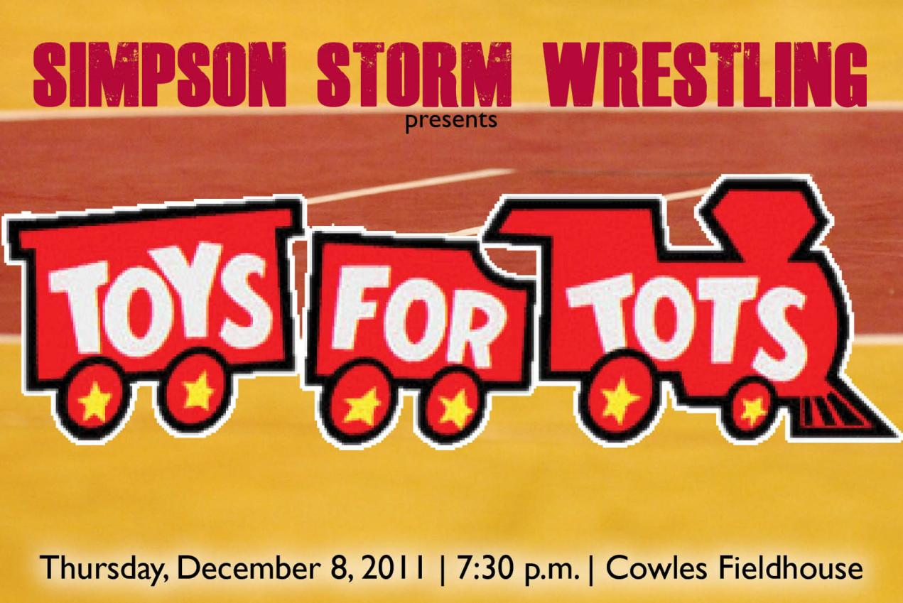Toys For Tots Campaign : Simpson wrestling to take part in toys for tots campaign