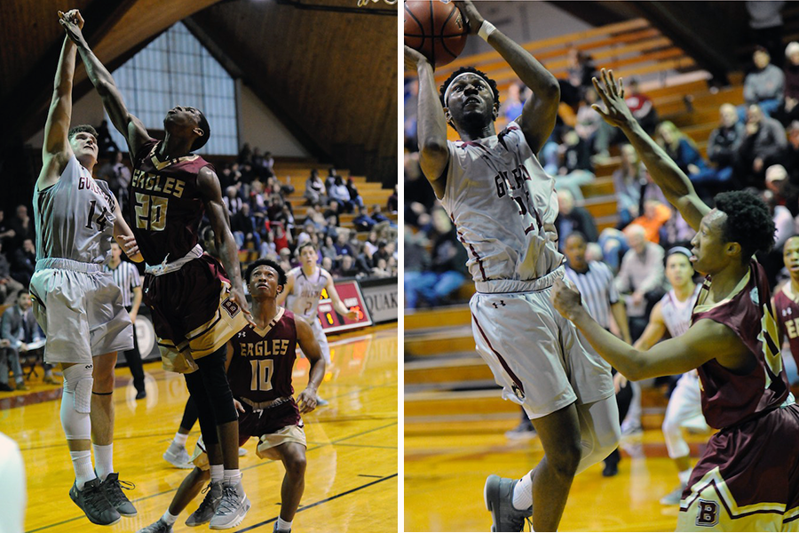 Carson Long '19 (l), Marcus Curry '19 (r) (Andy Gore photos)