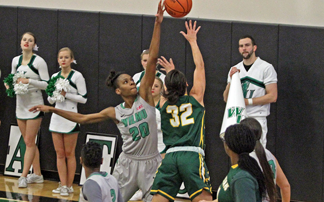 Second Quarter Outburst Carries Wilmington Women's Basketball to 82-56 CACC Victory over Felician