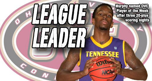 Murphy earns second OVC Player of the Week honor