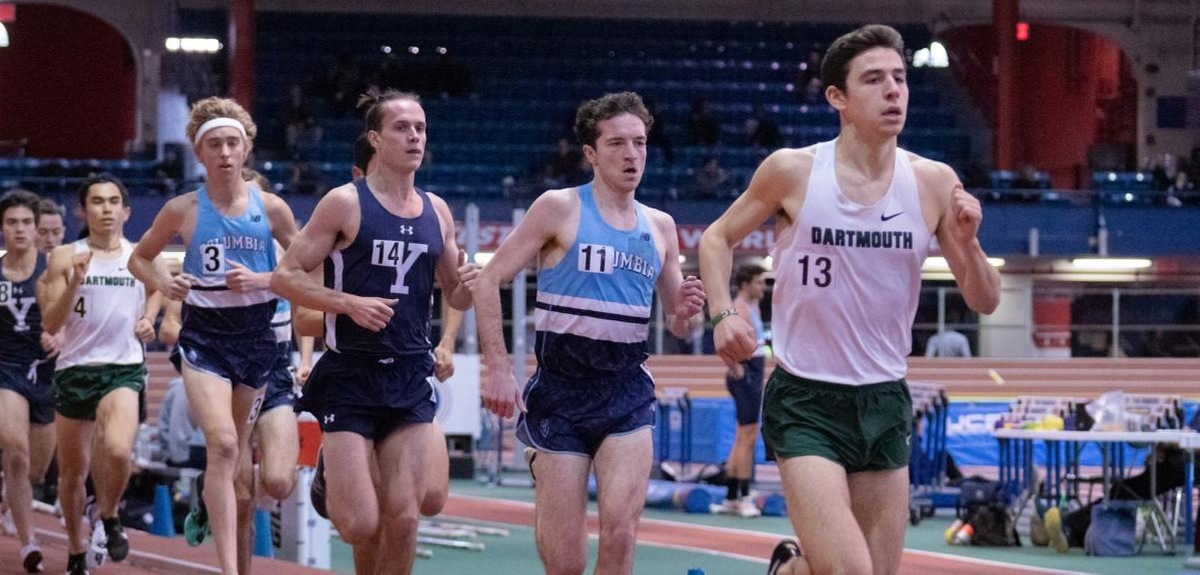 Nick Dahl '21, Pictured in Third (Photo Courtesy of The Armory).