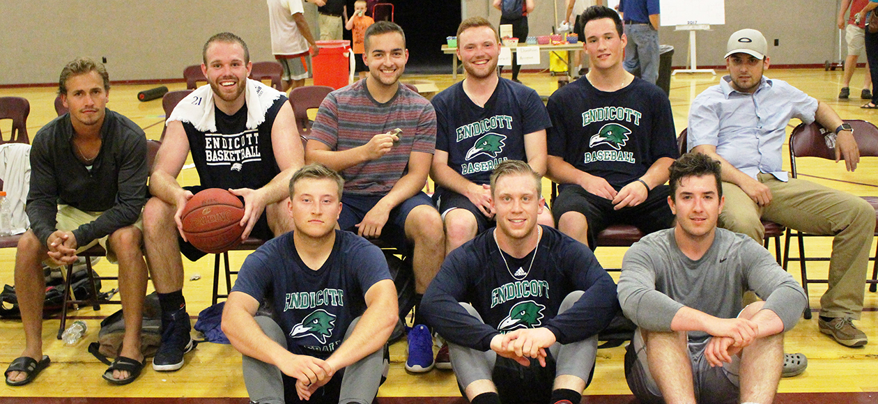 Baseball Participates In Charity Weekend