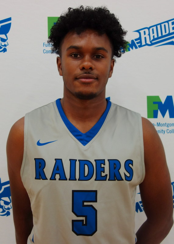 Men's Basketball Guard Number 5 Brandon Cooper Roster Head-Shot