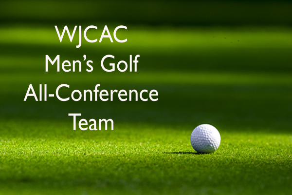 WJCAC Men's Golf All-Conference Team