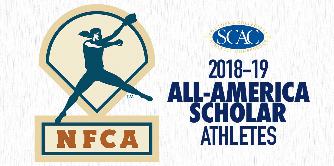 SCAC has 28 Student-Athletes Recognized with NFCA All-America Scholar Honor