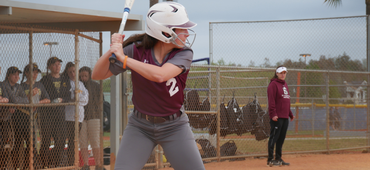 Softball Falls to Rowan, 8-0, But Defeats Mount Saint Mary (N.Y.), 7-6