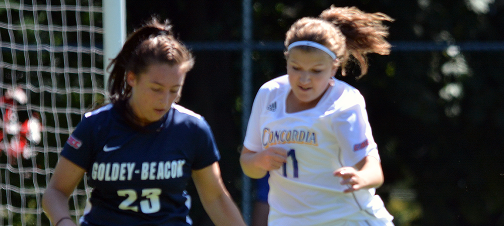 Women's Soccer Opens CACC Play with a 5-2 Loss at Home to Goldey-Beacom
