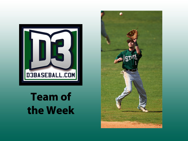 Snow Named to D3baseball.com Team of the Week
