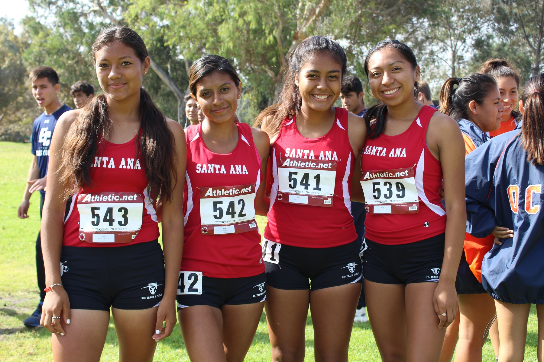 Santa Ana Cross Country Makes Appearance in 5CTCA Rankings