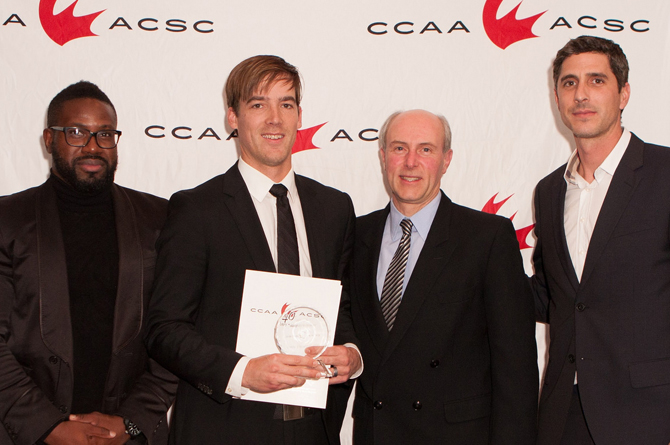 Vos named CCAA Men's Soccer Coach of the Year