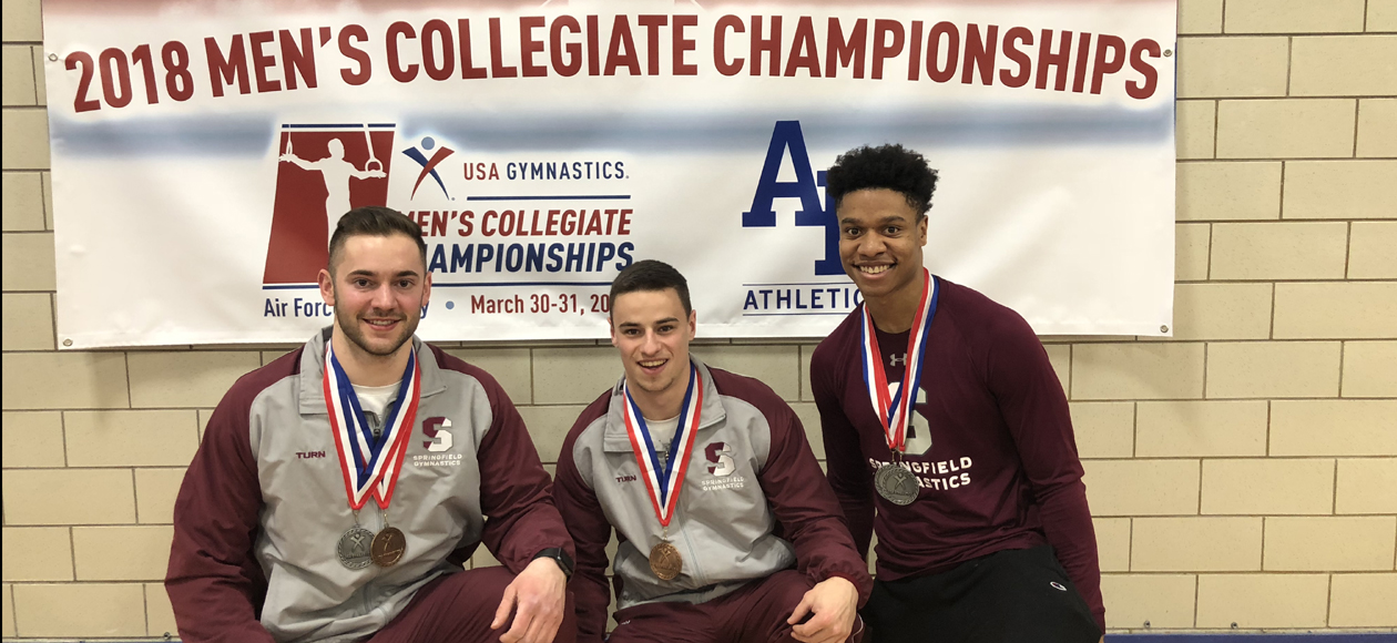 Men's Gymnastics Lands Four All-America Honors In Second Day of USAG Collegiate Championships