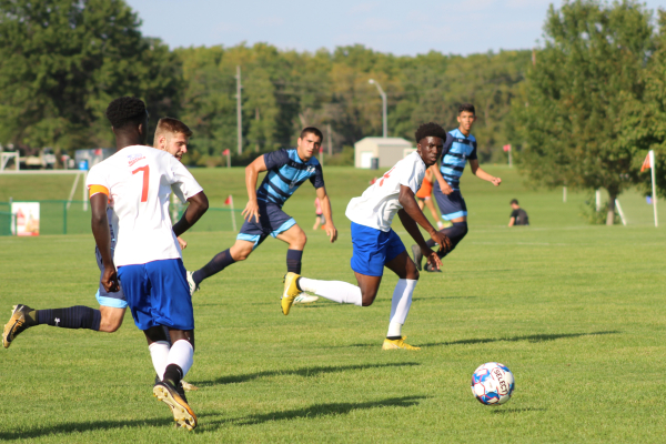Men's Soccer Team Falls to Iowa Central