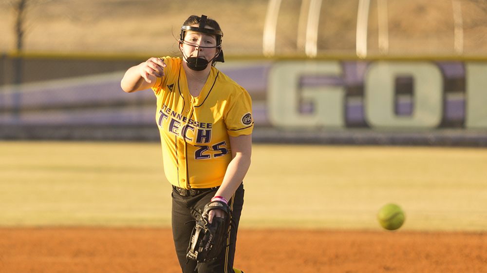 Sparks drives in seven, Hughes gets first win as Tech splits with Samford