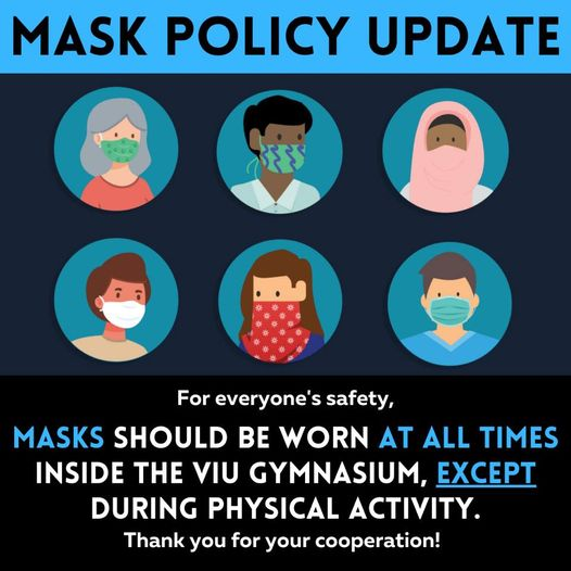 Mask Policy Update