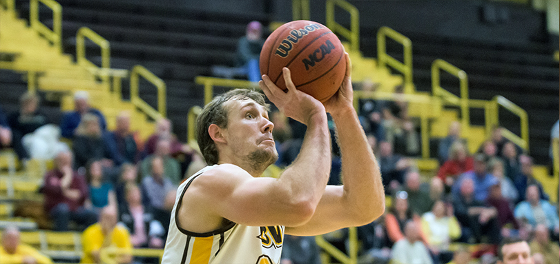 Jake Fetherolf recorded his OAC leading eighth double-double of the season  (Photo Courtesy of Jesse Kucewicz)