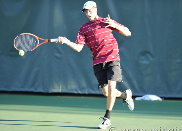 No. 48 Men's Tennis Falls to No. 33 Fresno State