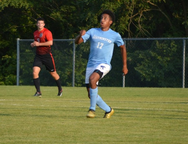 Westminster Men's Soccer Routs Greenville in Second Conference Win