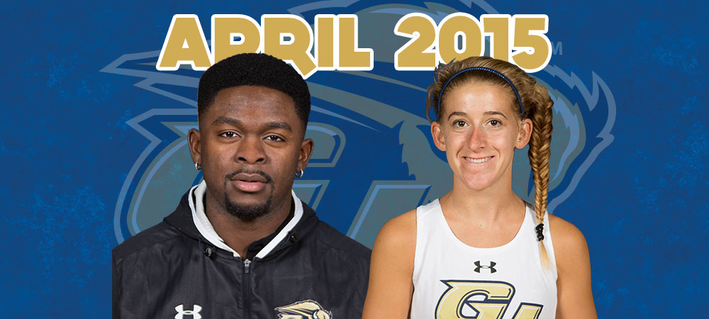 Vianney Boum-Yamb and Rachel Young named April Bison of the Month presented by GIS