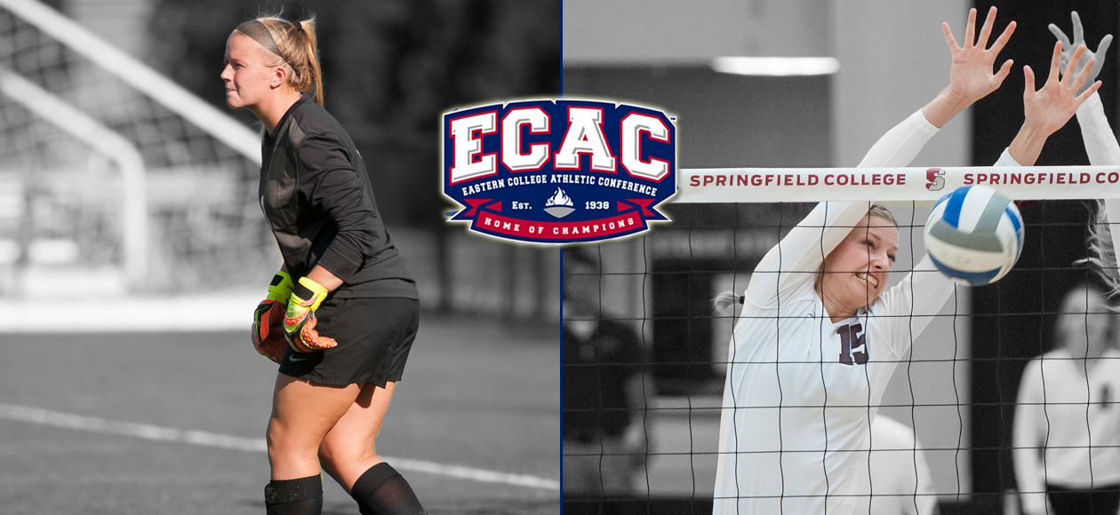 Boucher and Holt Collect ECAC Defensive Player of the Week Honors