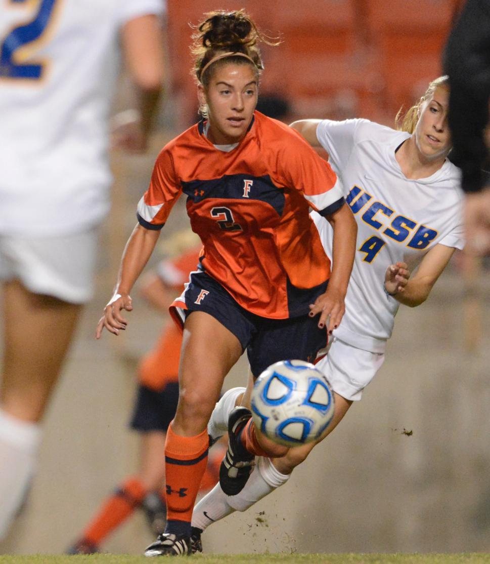 Women's Soccer vs. UC Santa Barbara (Oct. 19, 2012) - Cal State Fullerton Athletics