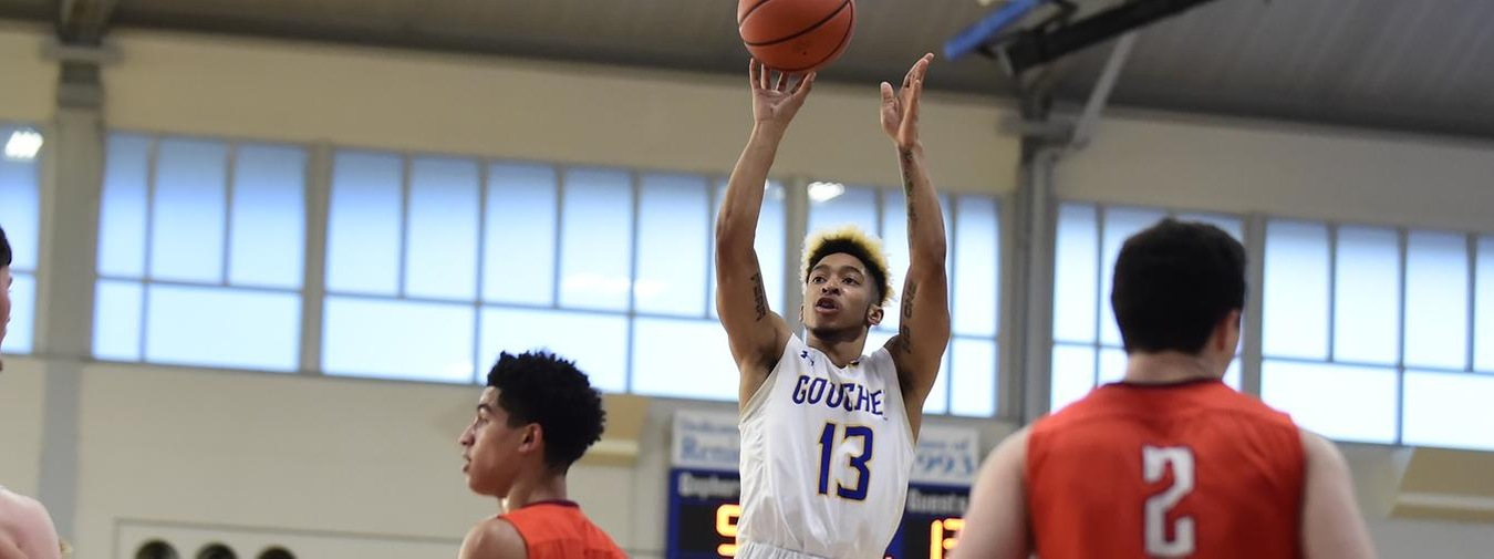 Morton Drops Career-High 31 Points For Goucher Men's Basketball Against Drew