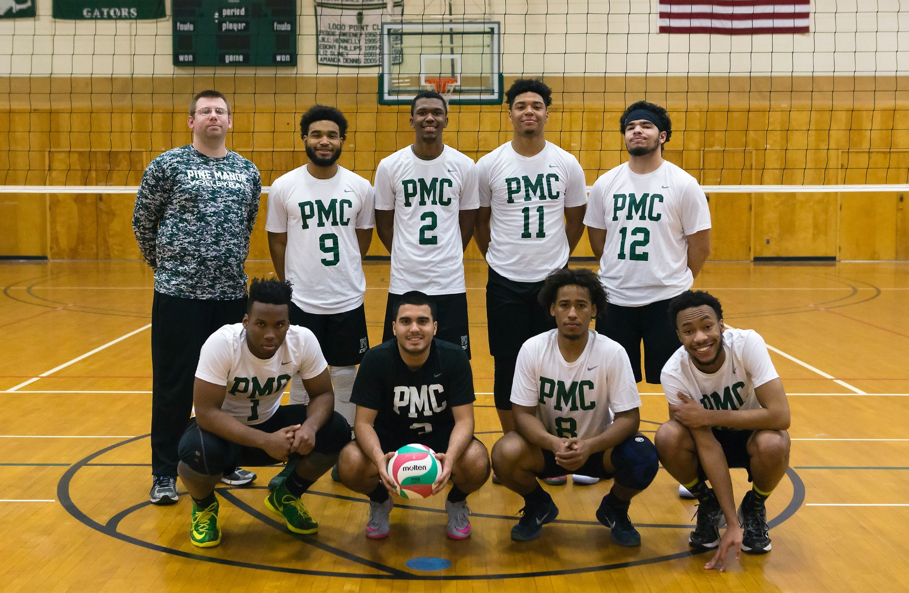 Men's Volleyball Finishes First Season