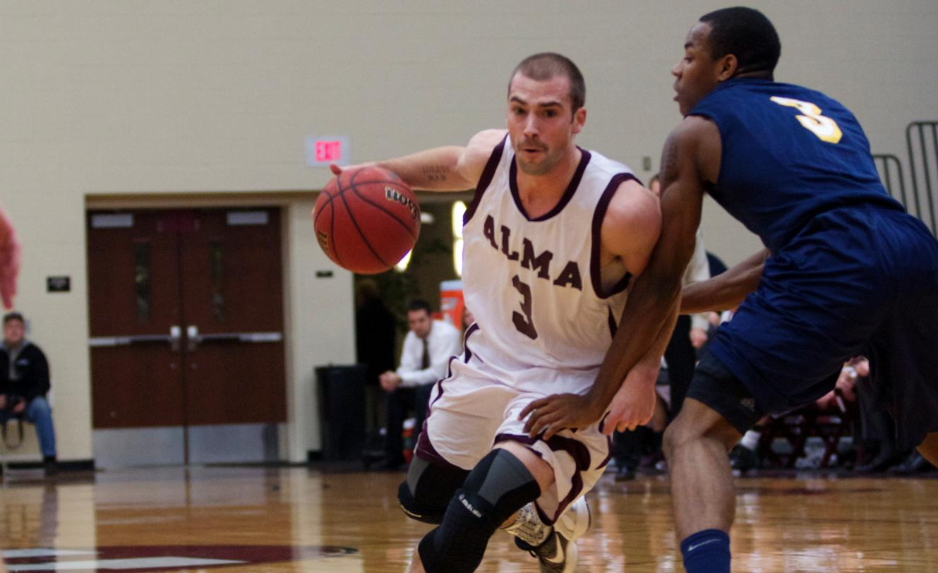 Men's Hoops defeated Spring Arbor University 74-69 in exciting overtime game