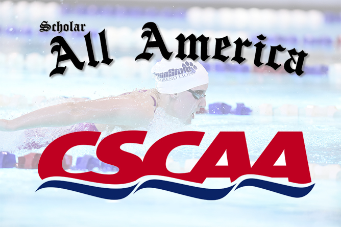Lions Named CSCAA Division III Scholar All-America Team