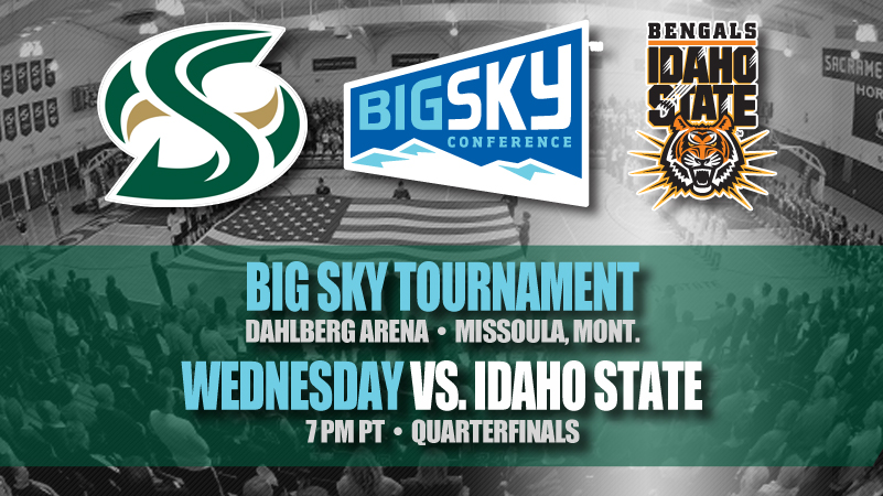 WOMEN'S BASKETBALL TO FACE IDAHO STATE IN FIRST ROUND OF BIG SKY TOURNAMENT