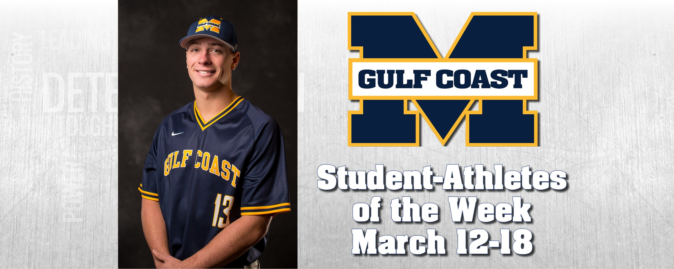 O'Shea named MGCCC Student-Athlete of the Week