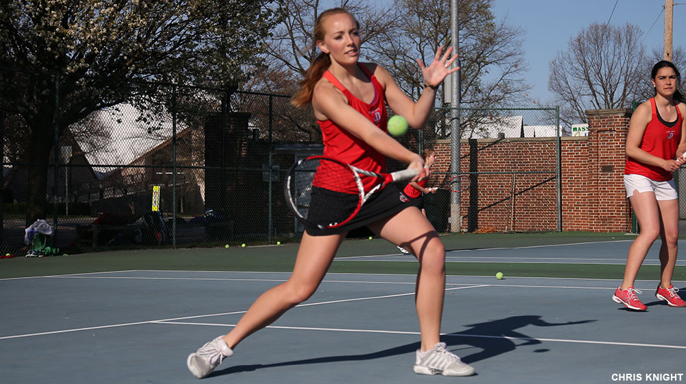 Women's Tennis Claims 6-3 Win Over Bullets
