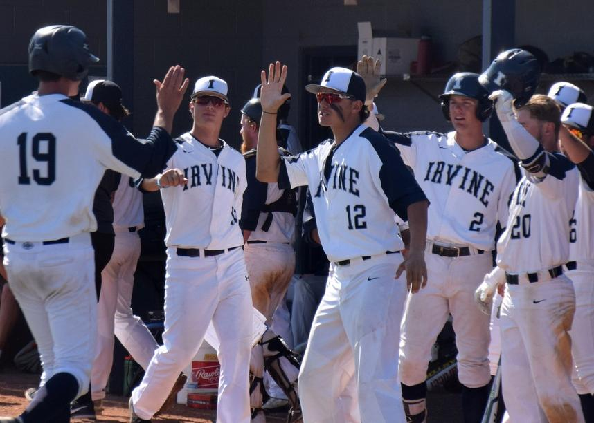 Baseball team fights off Riverside, 5-4, in series opener
