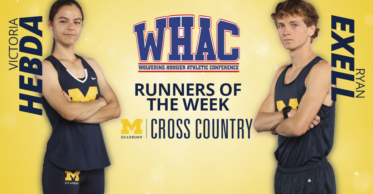 UM-Dearborn duo sweeps WHAC Runner of the Week Awards