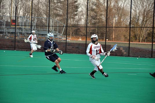 Men's Lacrosse fends off F&M, 7-5