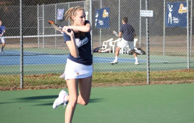 Cobra Women's Tennis Comes from Behind to Defeat Benedict