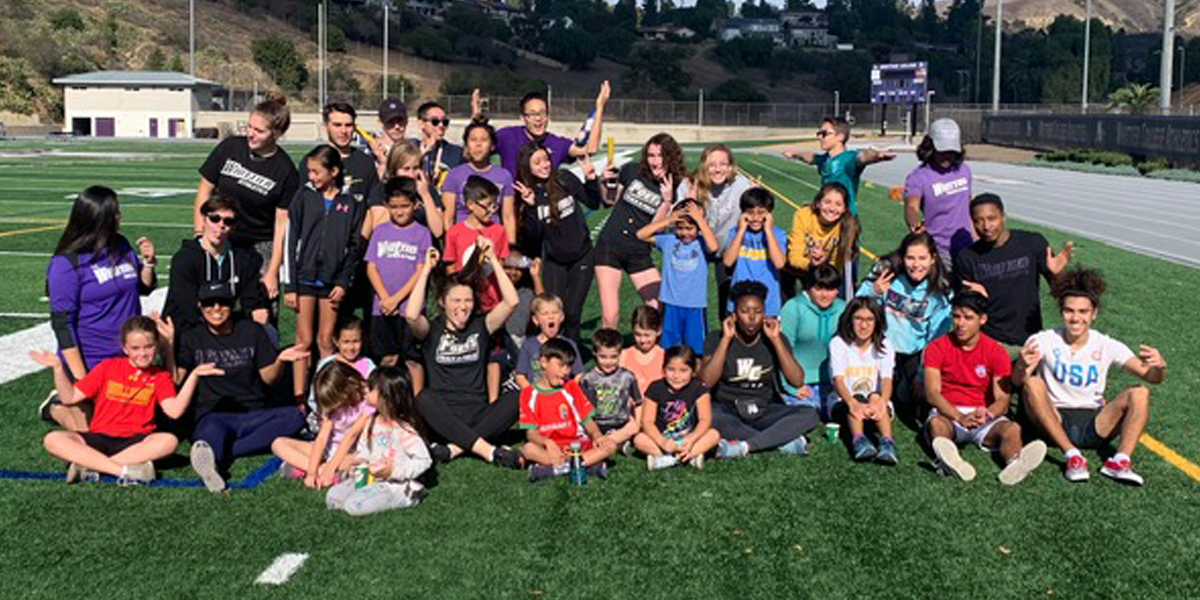 Track & Field Hosts Youth Day