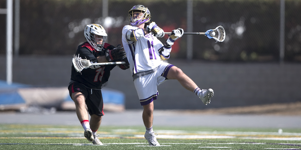 Men's Lacrosse Routs San Diego State 17-7