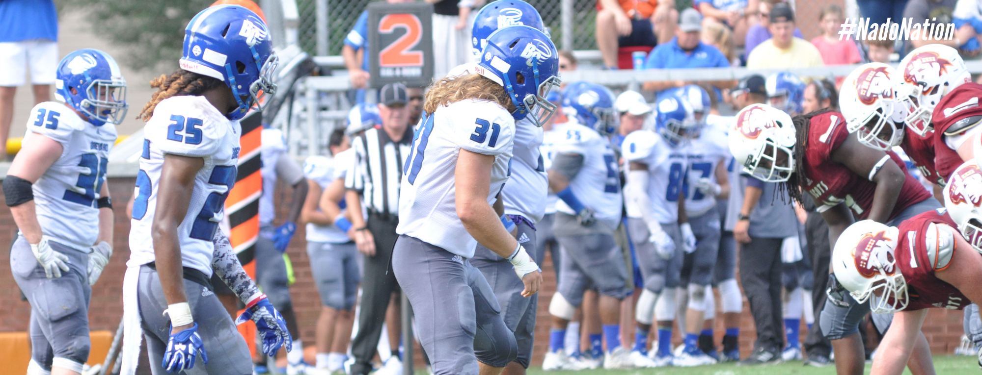 Brevard Football Drops USA South Conference Opener to Maryville