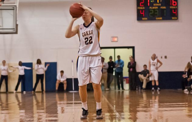 Coker Falls Short at Wingate