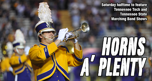 Jazz and celebration will echo in Tucker Stadium at halftime Saturday