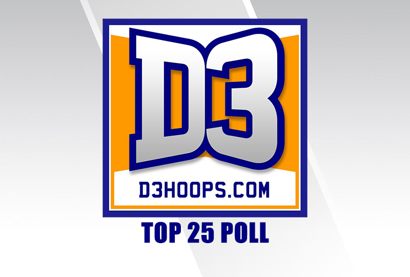 D3hoops.com Top 25 Poll