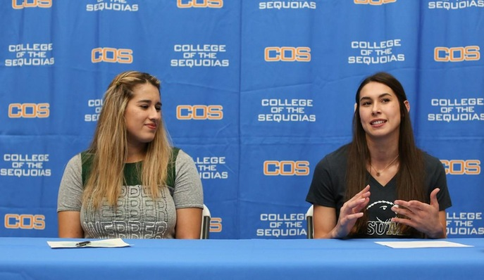 Trimm and Vargas Sign National Letters of Intent