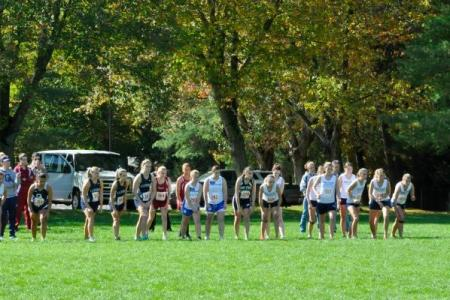 Cross Country competes at the PSUAC Championships